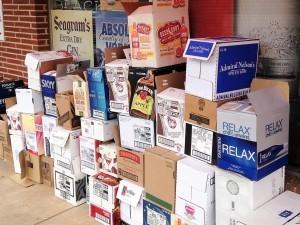 Free licquor store boxes